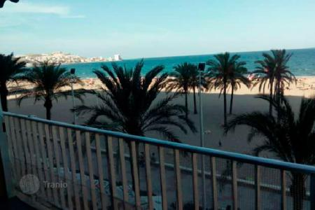 Apartments for sale in Cullera. Modern studio with a balcony overlooking the sea near the beach, Cullera, Valencia, Spain