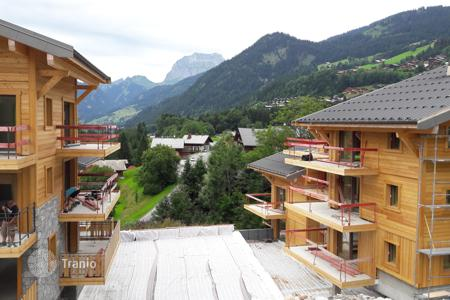 Cheap property for sale in Chatel. Attractive apartment in a new residential complex in Chatel, French Alps, France