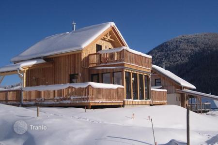 Residential for sale in Steiermark. New two-level chalet in the ski resort in the Alps, Styria