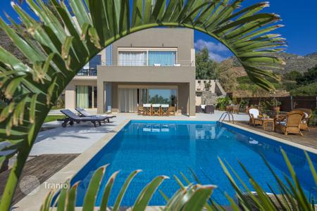 4 bedroom villas and houses to rent in Greece. Villa – Istro, Crete, Greece