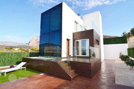 Coastal houses for sale in Benidorm. 4 bedroom villa with panoramic views in Finestrat, near Benidorm