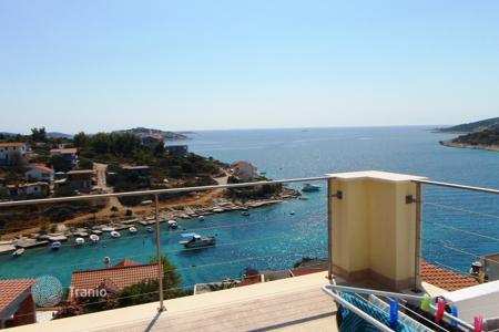 Coastal residential for sale in Sibenik-Knin. House Sevid 60 meters from the sea