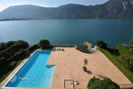 3 bedroom houses for sale in Central Europe. Villa – Bissone, Lugano, Ticino, Switzerland
