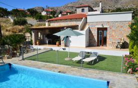 Coastal houses for sale in Rethimnon. Cozy stone villa with a pool in Rethymnon, Crete, Greece