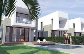 Houses with pools for sale in La Marina. Modern 3 bedroom villa 400 meters from the beach in La Marina