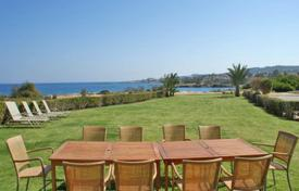 Luxury houses for sale in Protaras. Six Bedroom Seafront Villa with Title Deed in Protaras