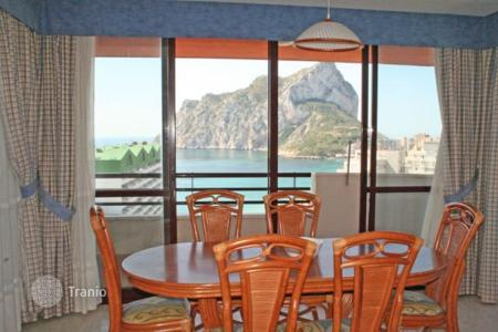 3 bedroom apartments for sale in Costa Blanca. Sea view apartment in a residence just a few steps from the beach, in Calpe, Alicante, Spain