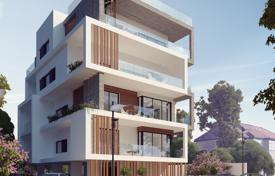 Property for sale in Limassol. Apartment in a small apartment complex under construction with a covered parking in the city center, Limassol, Cyprus