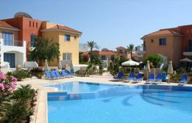 Apartments for sale in Cyprus. Apartments and townhouses in a residential complex with a swimming pool, a garden and a gym near the beach, Paphos, Cyprus