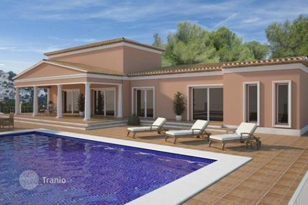 3 bedroom houses for sale in Benissa. New build villas of 3 bedrooms in Benissa