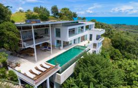Snow-white villa with stunning ocean views, Koh Samui, Surat Thani, Thailand for $2,615,000