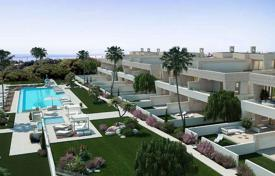Luxury 3 bedroom houses for sale in Andalusia. Three-level new villa in Marbella, Costa del Sol, Spain