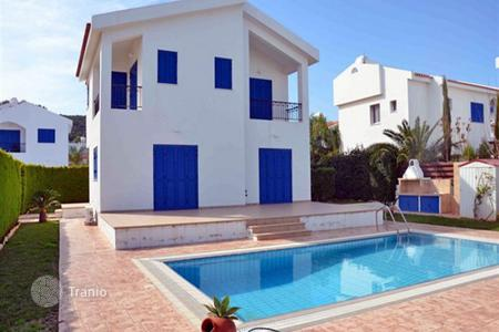 Houses with pools for sale in Paralimni. Four Bedroom Detached House 150 from the Beach in Protaras