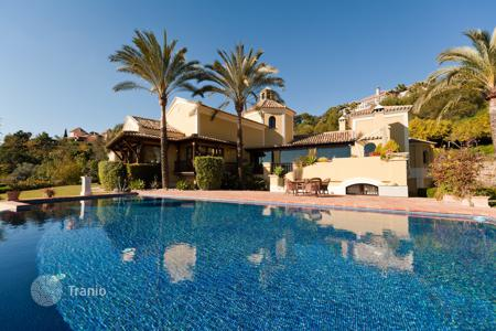 Houses for sale in Andalusia. Outstanding Rustic Style Villa in La Zagaleta Country Club, Benahavis