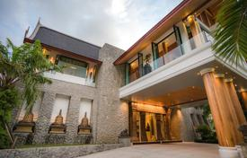 Property for sale in Southeastern Asia. The two-storey luxury villa with infinity pool and a furnished terrace with views of Patong Bay, Kalim, Phuket, Thailand