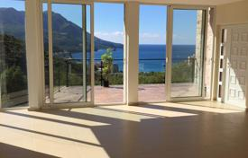 2 bedroom houses for sale in Budva. Comfortable house with a terrace and a sea view, Becici, Montenegro