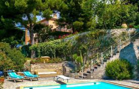 Houses with pools for sale in Menton. Villa with sea views in Menton