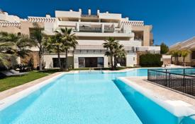 Penthouses for sale in Costa del Sol. Designer penthouse overlooking the sea and the mountains in Marbella, Andalusia, Spain