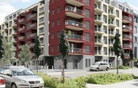 2 bedroom apartments for sale in Germany. Luminous apartment with a balcony and panoramic windows in a modern residence in the central district of Friedrichshain, Berlin, Germany