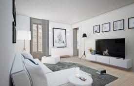 Residential for sale in Catalonia. Modern apartment with balconies, in a renovated building with an elevator, in the central district of the city, Eixample, Barcelona