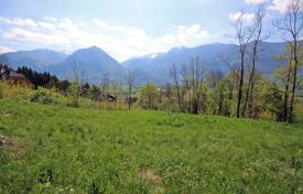 Development land for sale in Slovenia. This a lovely building plot within walking distance to the centre of Bovec