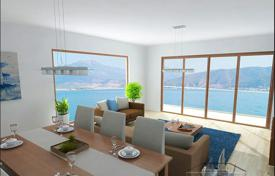 Off-plan houses with pools for sale overseas. New villa with private pool and terrace, located on the seafront on the Sovalye Island, Fethiye, Turkey