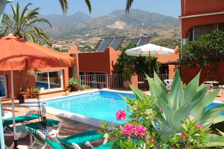 Commercial property for sale in Southern Europe. Hotel with mountains and Mediterranean sea views, Malaga, Spain
