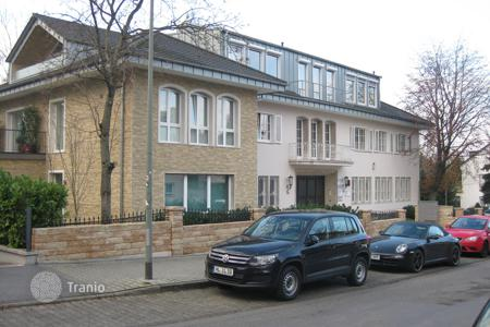 Apartment units for sale in Germany. Commercial apartments and offices in a modern building, in a posh district of Frankfurt on the Main, Germany