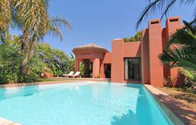 Houses for sale in Puerto Banús. Villa in Moroccan style with a pool, Puerto Banus, Costa del Sol, Spain