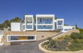 New villa on the sea front with a rooftop terrace and sea views, Roca Llisa, Ibiza, Spain for 34,000 € per week