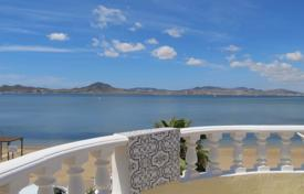 5 bedroom houses for sale in Murcia. Mediterranean style villa on the seafront in Mar Menor, Murcia, Spain