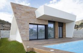 Houses with pools for sale in Finestrat. Villa with a pool and a garden in a new residential complex, Finestrat, Costa Blanca, Spain