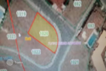 Development land for sale in Nicosia. 529m² Residential Plot in Latsia