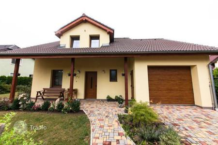 Property for sale in Central Bohemia. Spacious house with terrace and garden in the Czech Republic