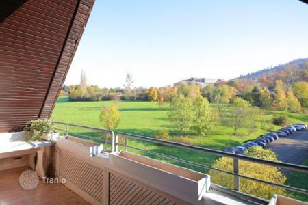 Cheap apartments for sale in Germany. Luxury 4-bedrooms apartment with a gallery in Baden-Baden