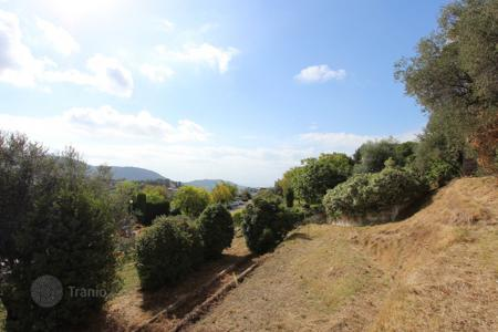 Land for sale in Provence - Alpes - Cote d'Azur. Plot with stunning sea and mountain views in Nice, Cote d`Azur, France
