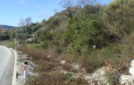 Coastal development land for sale in Herceg-Novi. Attractive plot of land, 4km above Herceg Novi, size of 8700 m²