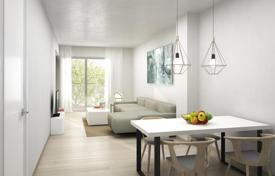 Residential for sale in Catalonia. Three-bedroom apartment in the center of Barcelona, Spain. New residential complex with a pool, a garden and a parking. Instalment plan!