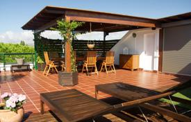 Penthouses for sale in Catalonia. Spacious penthouse with a rooftop terrace, 500 meters from the beach, Gava, Barcelona, Spain