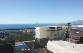 Penthouses for sale in Costa del Sol. Penthouse with a panoramic terrace and a sea view in Marbella, Andalusia, Spain