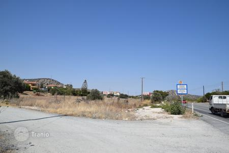 Land for sale in Limassol. Building Plot For Sale Iin Pyrgos Limassol