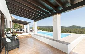 Coastal property for sale in Ibiza. Boutique hotel style villa overlooking the Mediterranean Sea