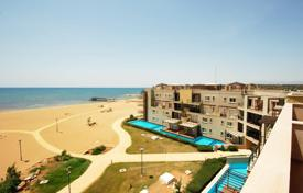 Penthouses for sale in Cyprus. Fully furnished penthouse with a large terrace in a residence on the seafront, Famagusta, eastern parts of Northern Cyprus