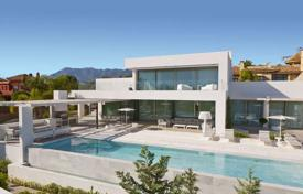 Coastal property for sale in Marbella. New elite villa just 150 meters from the beach in Marbella, Analusia, Spain