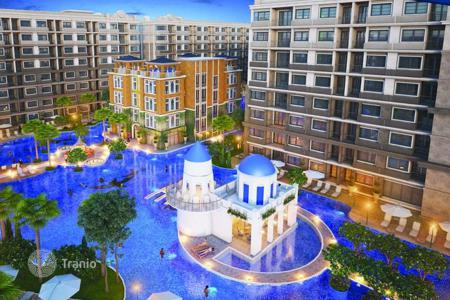 Condos for sale in Thailand. New apartments in Pattaya, Thailand. Сondominium with a swimming pool and a gym. Guaranteed rental income in construction stage!