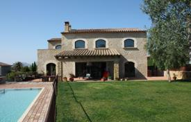 Houses for sale in Pals. Two-storey villa with a lift, a fireplace, a pool and a garden, Pals, Spain