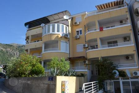 Coastal property for sale in Petrovac. Studio with sea views in the town of Petrovac