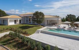 Luxury houses with pools for sale in Peymeinade. Cannes Backcountry — Newly built villa in a domaine