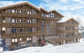 Luxury 1 bedroom apartments for sale overseas. Spacious apartment with a balcony and mountain views, in a new residence, next to the Medrán ski lift, Bagnes, Switzerland