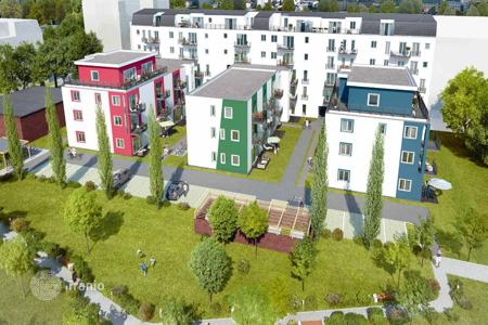 Cheap new homes for sale in Berlin. Cozy apartment in a new building in a green area of Köpenick